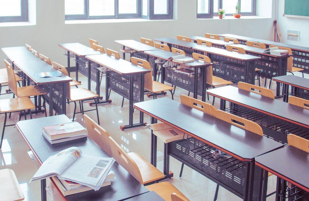 Klassenraum, Sprachschule